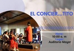 """""""El conciertito"""" Mochila Cantora"""