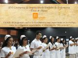 XVI Ceremonia de Imposición de Símbolos de Enfermería Tocas y Placas