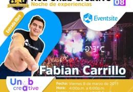Noche de Experiencias. Fabian Carrillo de Eventsite.