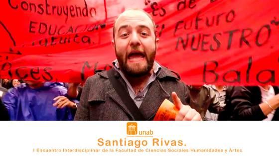 Santiago Rivas. I Encuentro Interdisciplinar de la FCSHA.