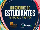 1er Concierto de estudiantes | Programa de Música