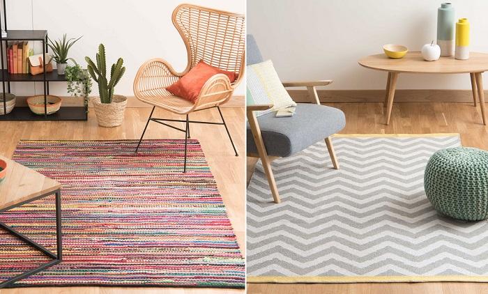 10 alfombras de saln baratas pero repletas de estilo