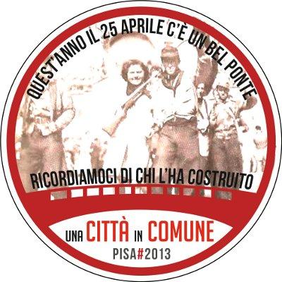 Un altro 25 aprile – Lettera aperta alla città di Pisa