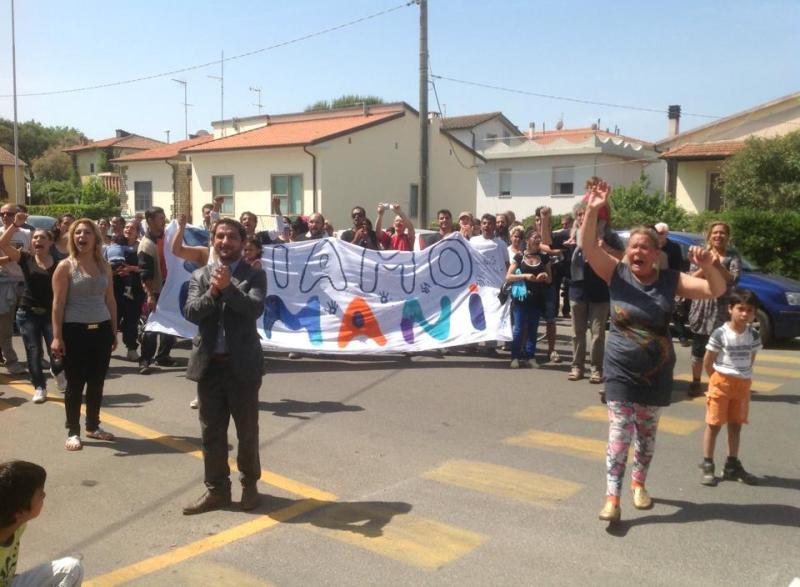 I rom della Bigattiera sotto sgombero
