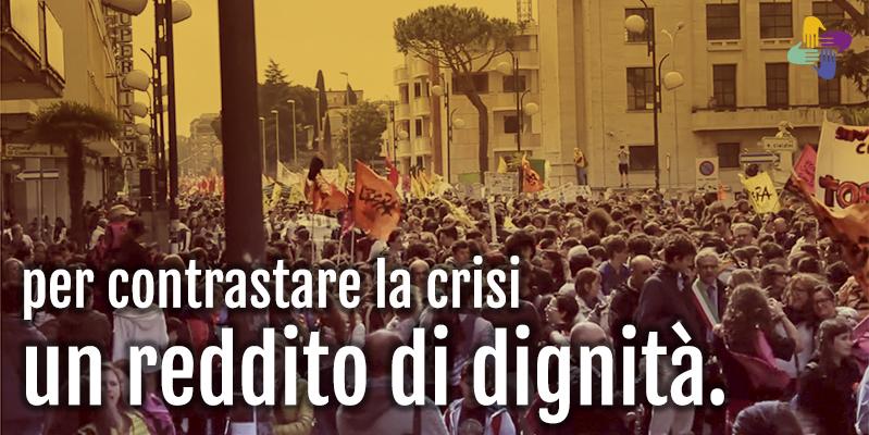 Mozione: per il reddito di cittadinanza  e dignità