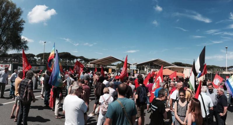 Manifestazione 9 dicembre a Camp Darby: l'adesione di Diritti in comune – la coalizione della sinistra