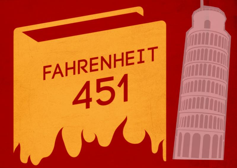 Fahrenheit 451 a Pisa