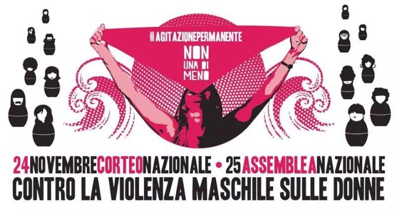 In piazza il 24 contro la violenza maschile sulle donne