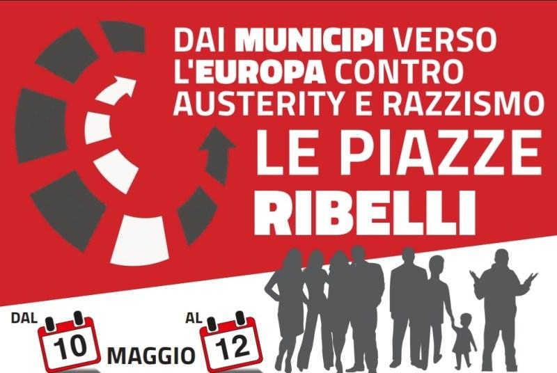 Dai municipi verso l'Europa contro austerity e razzismo: le piazze ribelli