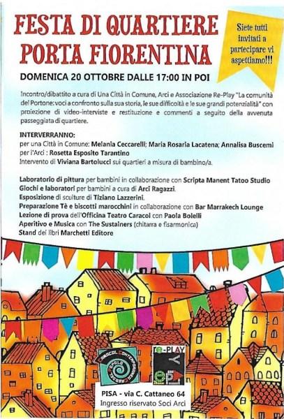 Festa di quartiere Porta Fiorentina