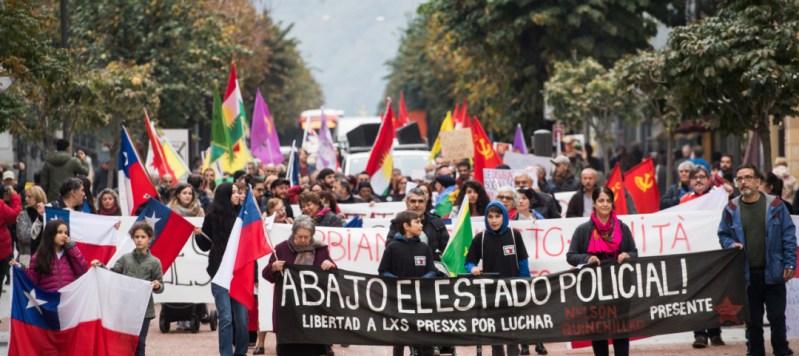 """Mozione: """"Solidali con il popolo cileno"""""""