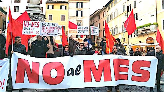 Coronavirus. Italia doppiamente a rischio? Non si moltiplichino gli effetti negativi del virus in Europa. Stop al MES e subito misure economiche UE per il sostegno all'emergenza sanitaria e al reddito. Senza dare in pasto al mercato il futuro di tutti noi.
