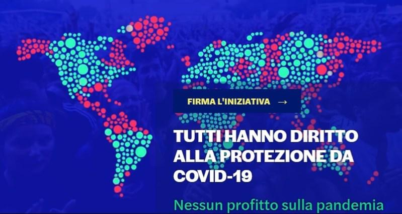 Iniziativa dei cittadini europei: nessun profitto sulla pandemia