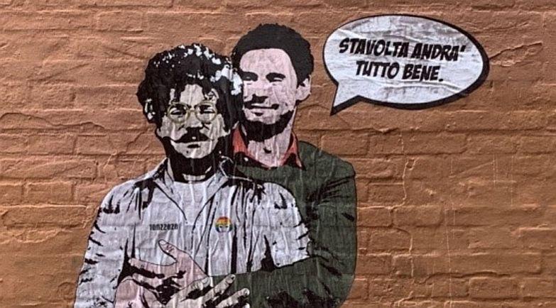Uno striscione per la verità per Giulio Regeni, ora la cittadinanza onoraria a Patrick Zaky