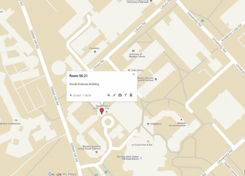 S0.21 Social Sciences Uni Warwick