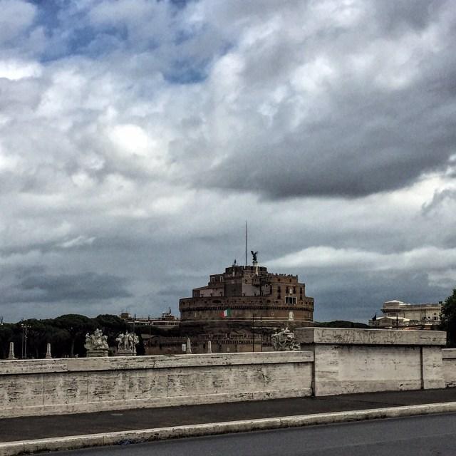 alt=Foto Tevere lato sinistro-Castel Sant'Angelo