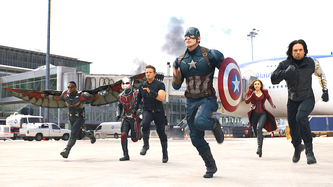 Image result for captain america civil war 2016