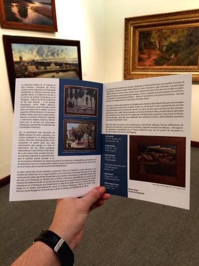 Catálogo de obras en el Museo Nacional de Bellas artes