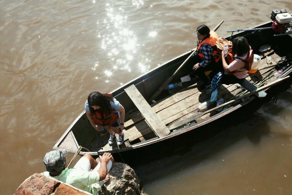 El peñon de limpio en el rio como llegar