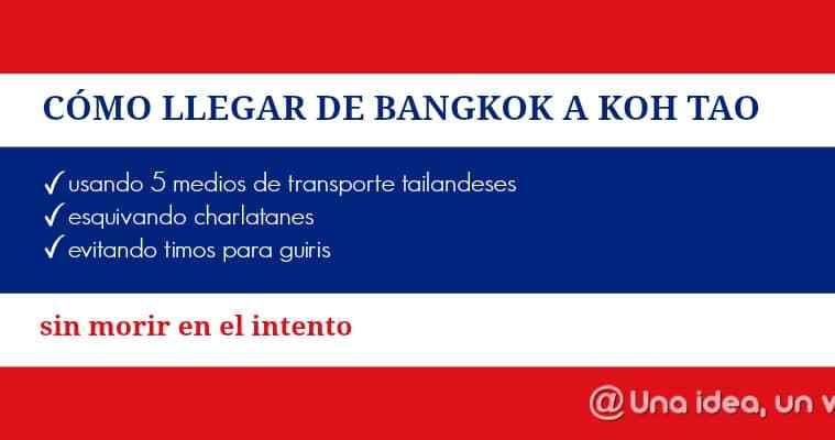 Tailandia-Bagkok-Koh-Tao