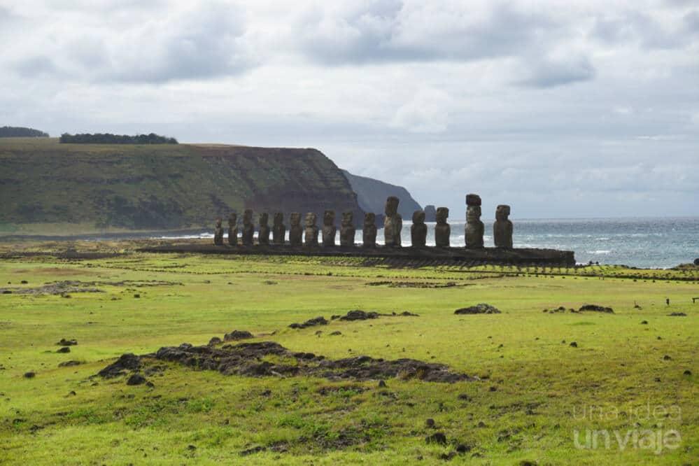 Ahu Tongariki - Isla de Pascua