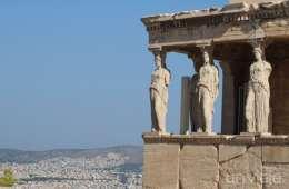 Detalle de columnas del Erecteón