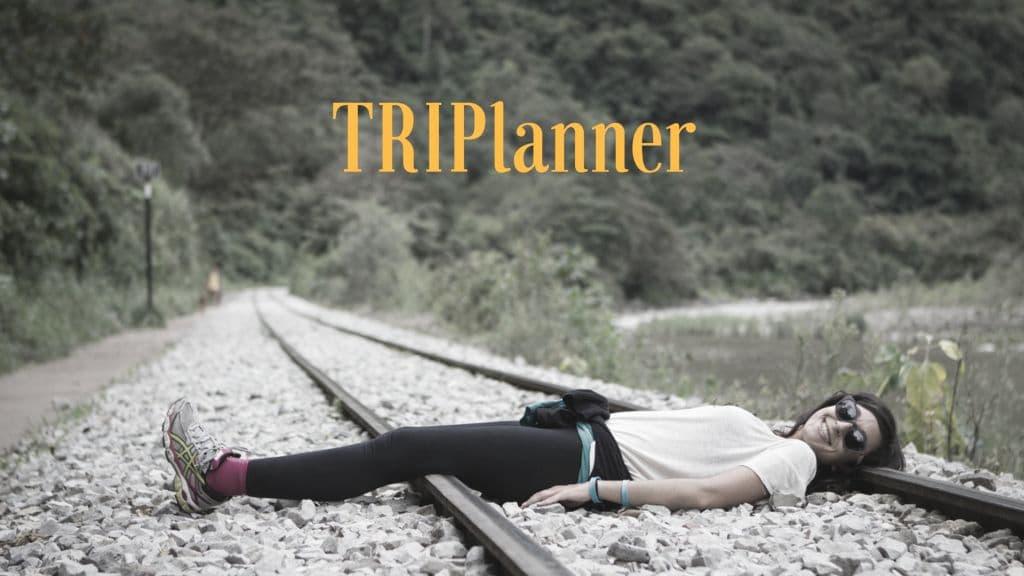 TRIPlanner: Te ayudamos a planificar tus viajes