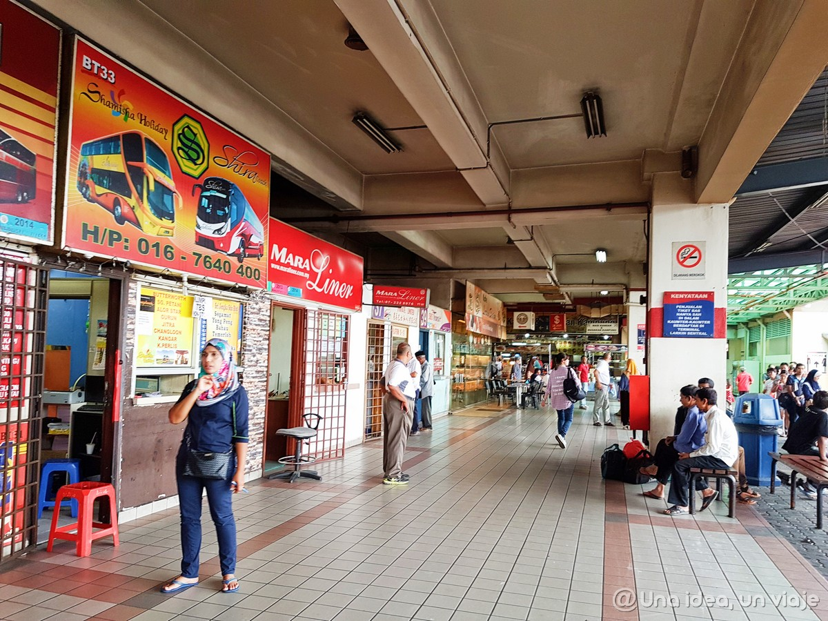 Guía completa transporte Singapur - Kuala Lumpur