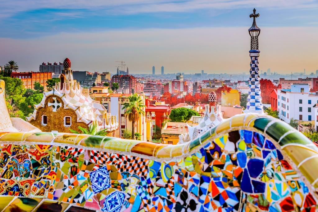 Barcelona y los colores de Gaudí