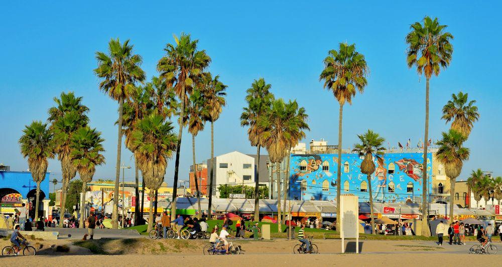 Promenade de Venice Beach