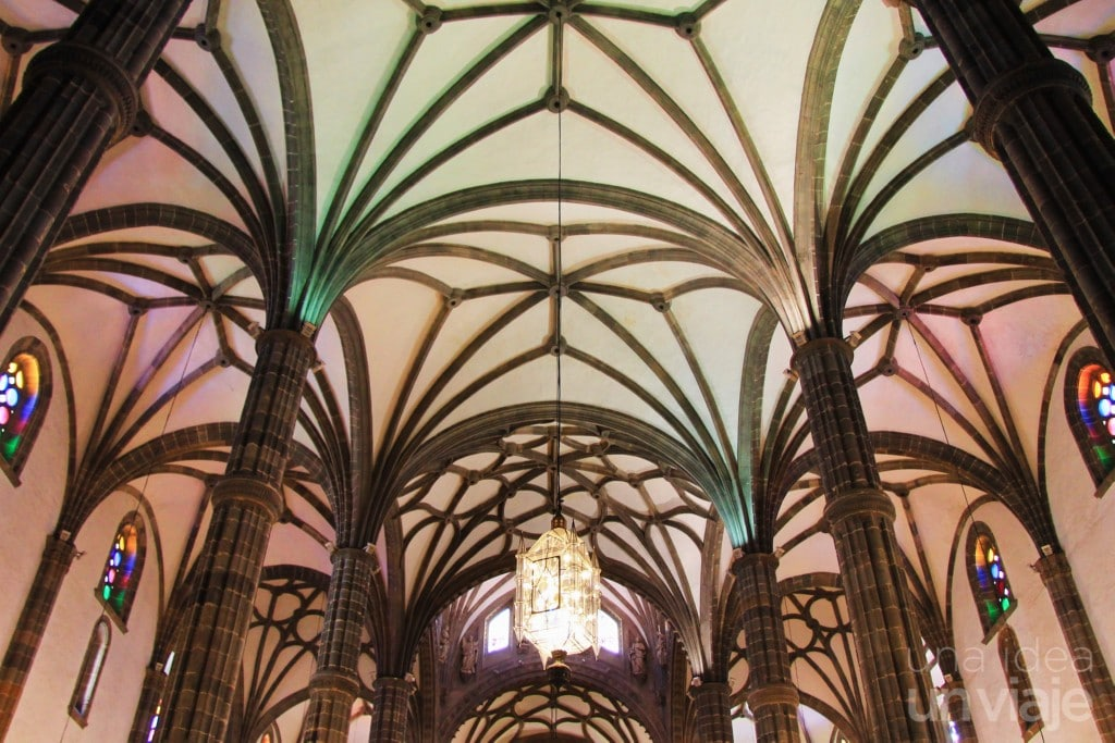 Interior Catedral Santa Ana, Vegueta