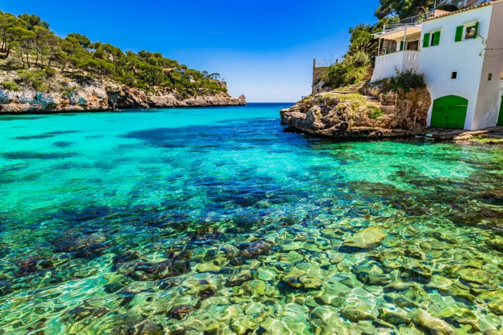 Aguas cristalinas, Mallorca