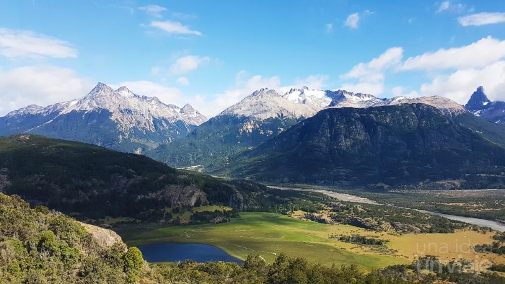 Imágenes de la carretera entre Coyhaique y Río Tranquilo