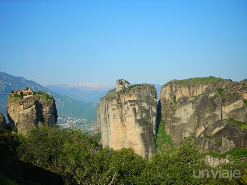 Meteora, complejo de monasterios en Grecia