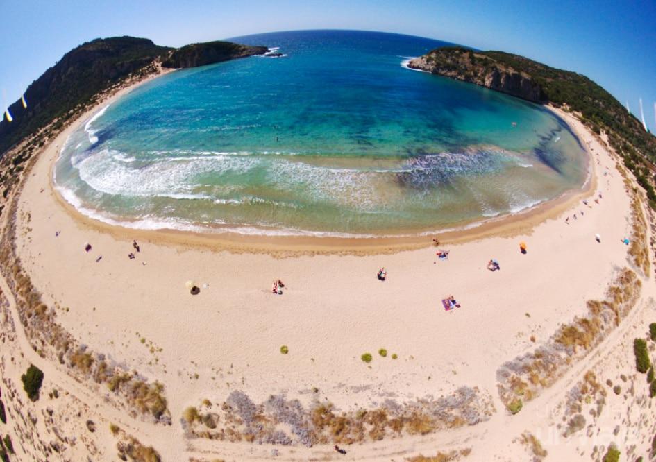 Playa de Voidokilia, Peloponeso
