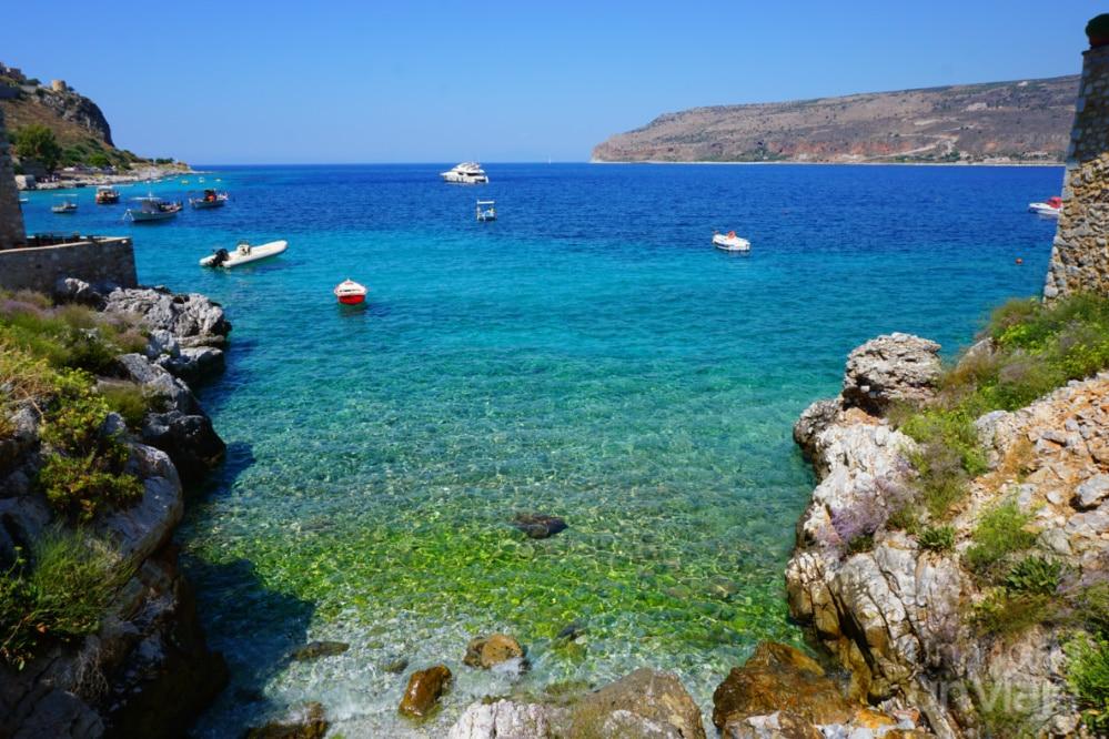 Aguas turquesa de Grecia