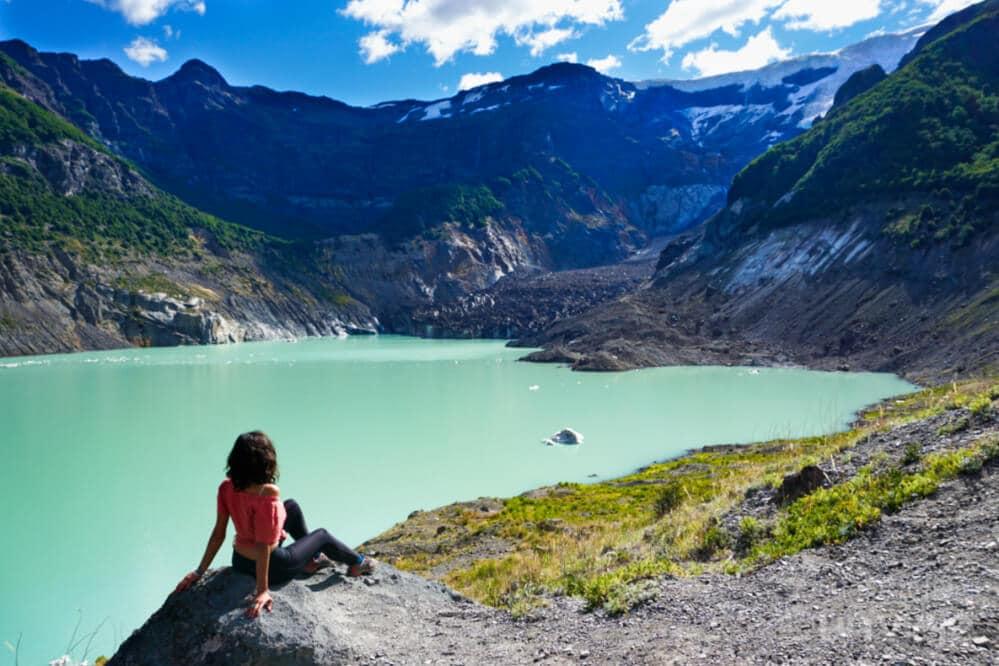 Lugares turísticos de Argentina - Qué ver en Bariloche - Ventisquero Negro, Cerro Tronador