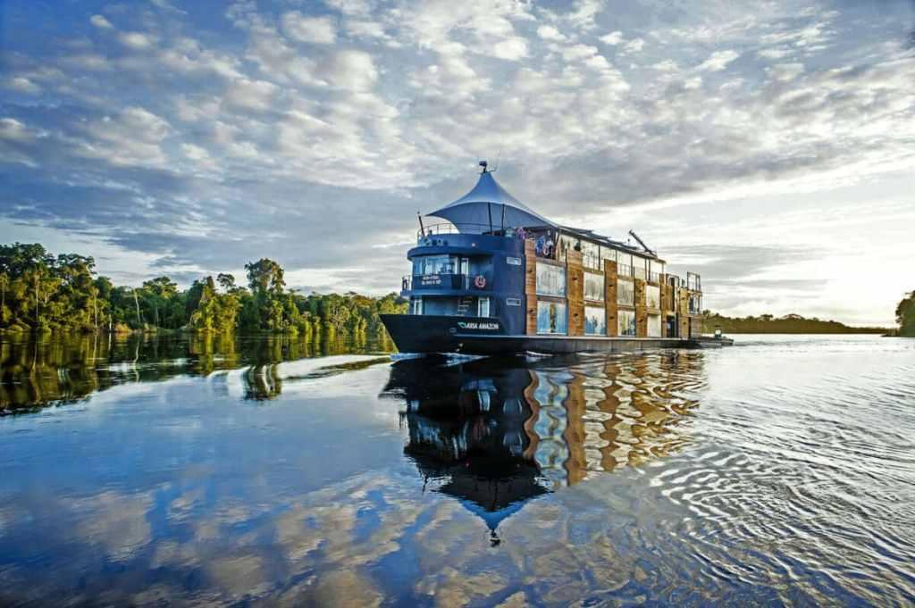 Navegación por el Amazonas desde Iquitos