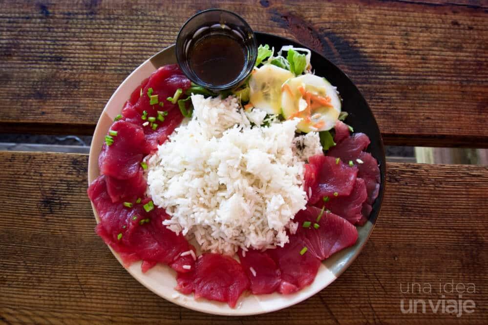 Gastronomía Polinesia Francesa