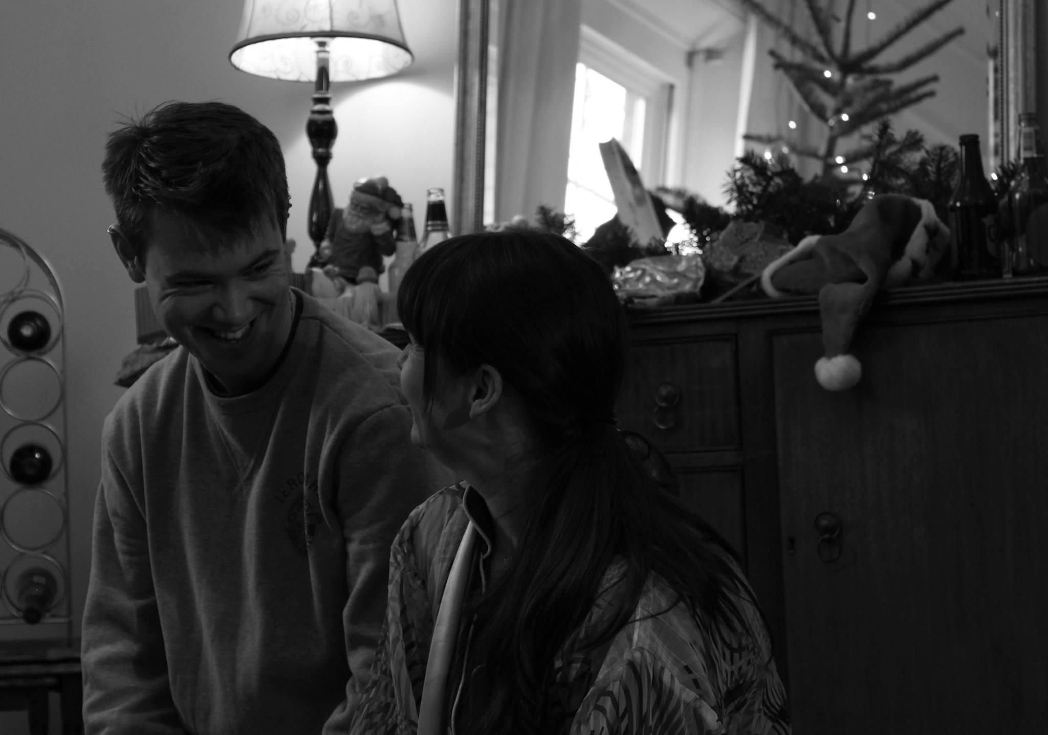 ON Set,Last days of Christmas