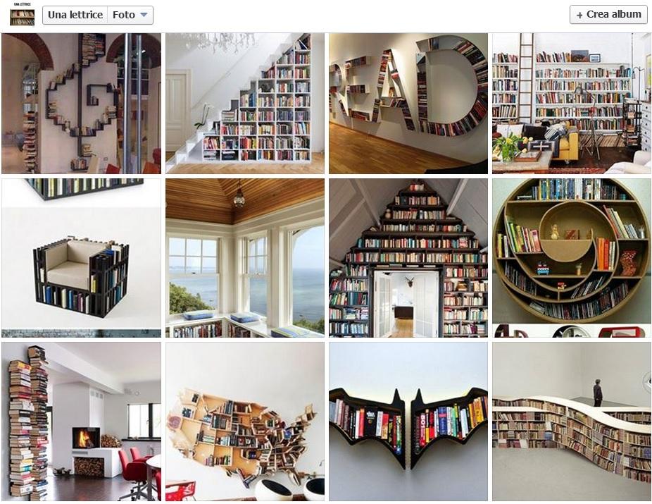 Librerie per arredare casa propria Batman o la mappa