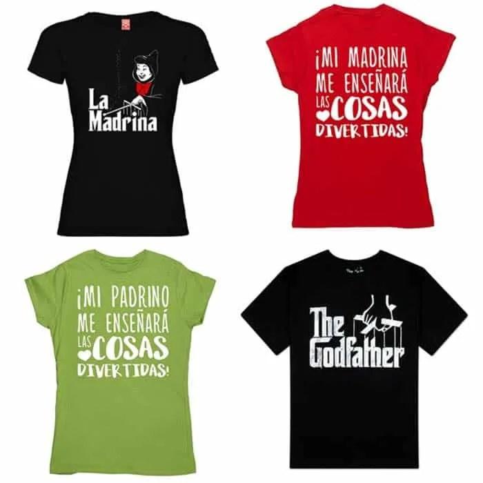 camisetas padrinos y camisetas madrinas