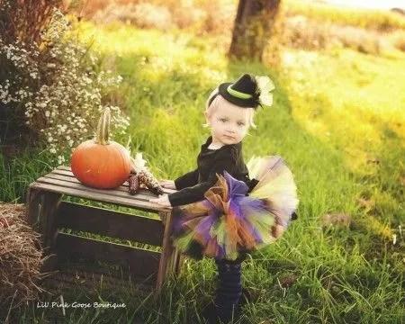 Disfraz de bruja para niña paso a paso