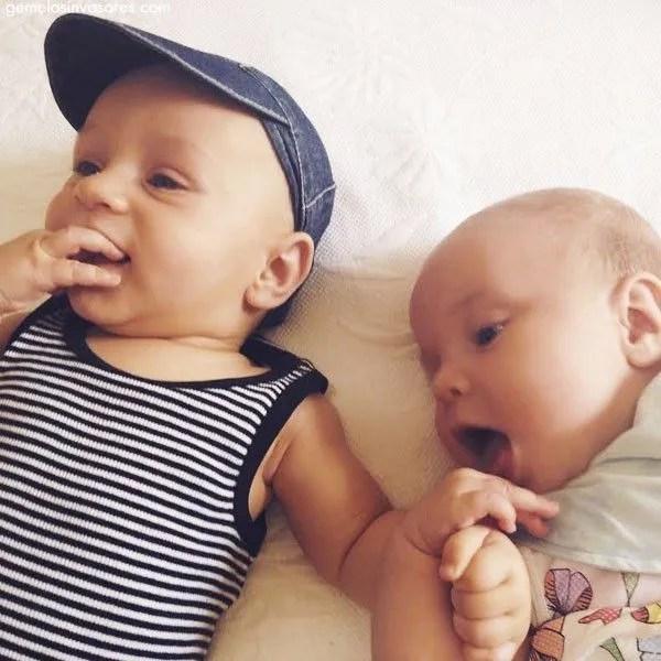 Mamá de gemelos: ¡qué locura! {Madres como tú: Anita}