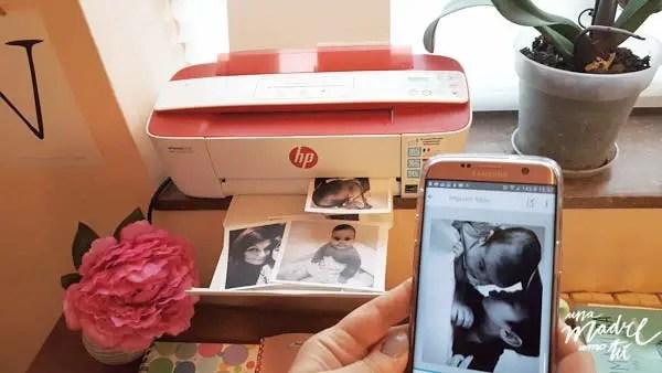 imprimiendo fotos desde el móvil