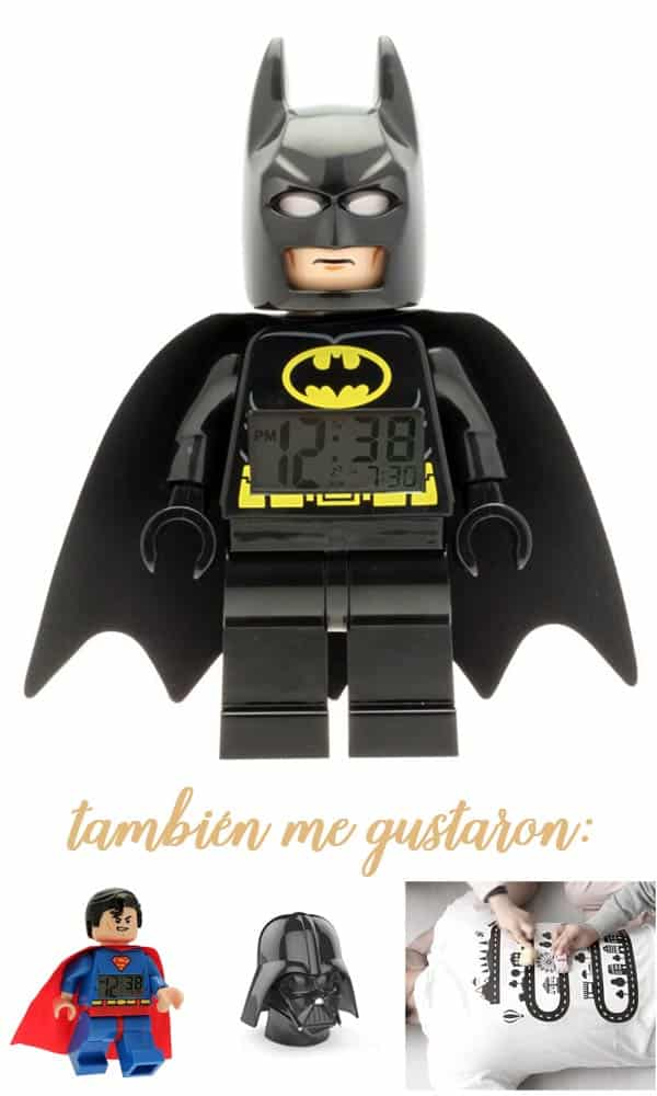 despertador lego batman