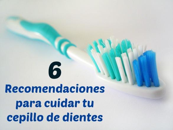 cuidado del cepillo de dientes