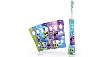 cepillos de dientes eléctricos para niños