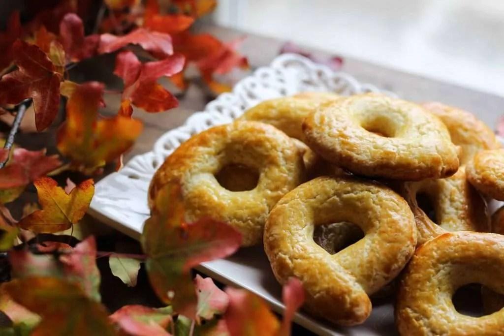 ciambelline biscotto dorate