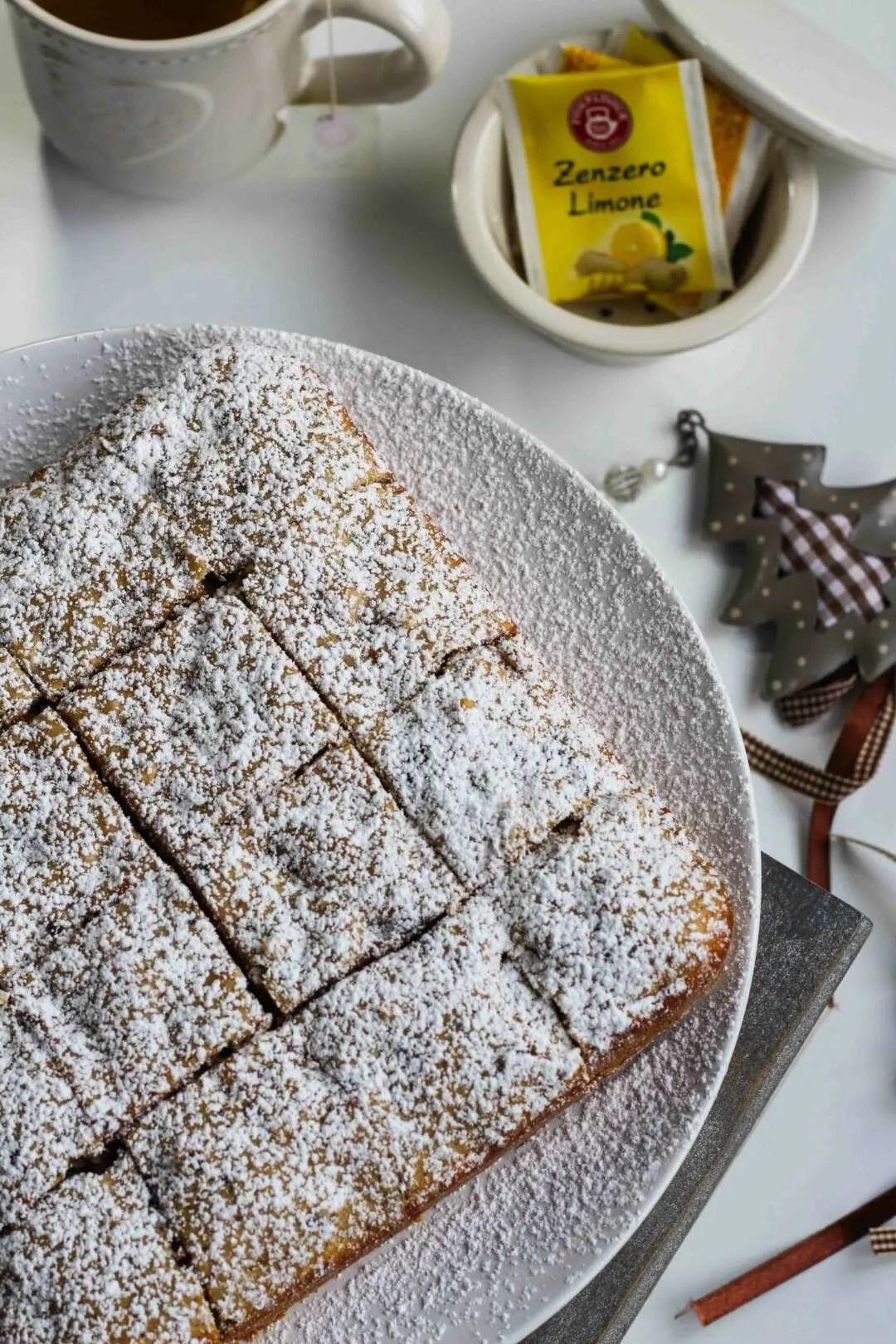 la ricetta dei quadrotti cioccolato e noci
